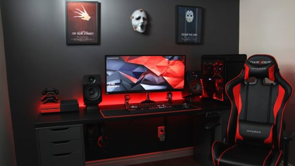 Gamer Room Colors Design 29 Best Red And Black Gaming Setup Ideas 2021 Room For Gaming